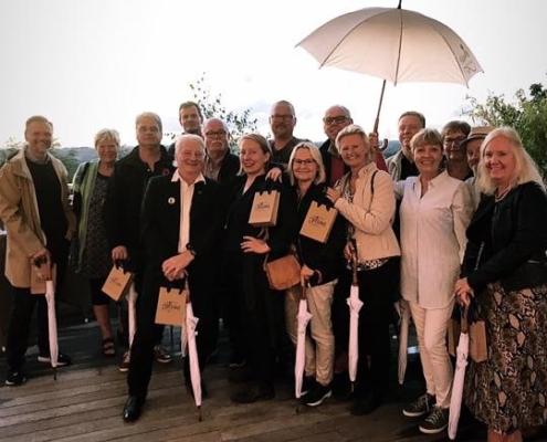 Genarps företagsgrupp tillsammans på The Lodge